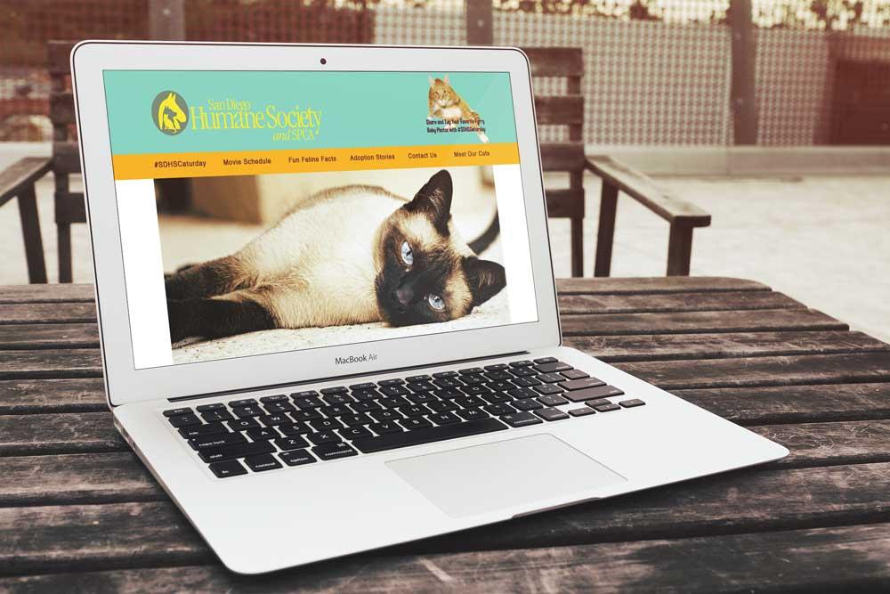 San Diego Humane Society Mockup