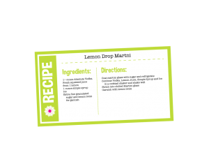 LemonDropRecipeCard