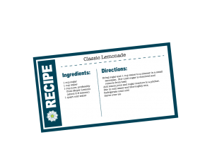 LemonadeRecipeCard